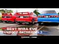 Best of the BEST Proton Wira Convert Lancer EVO 3 Libero at Sunroof Gathering 3 2017