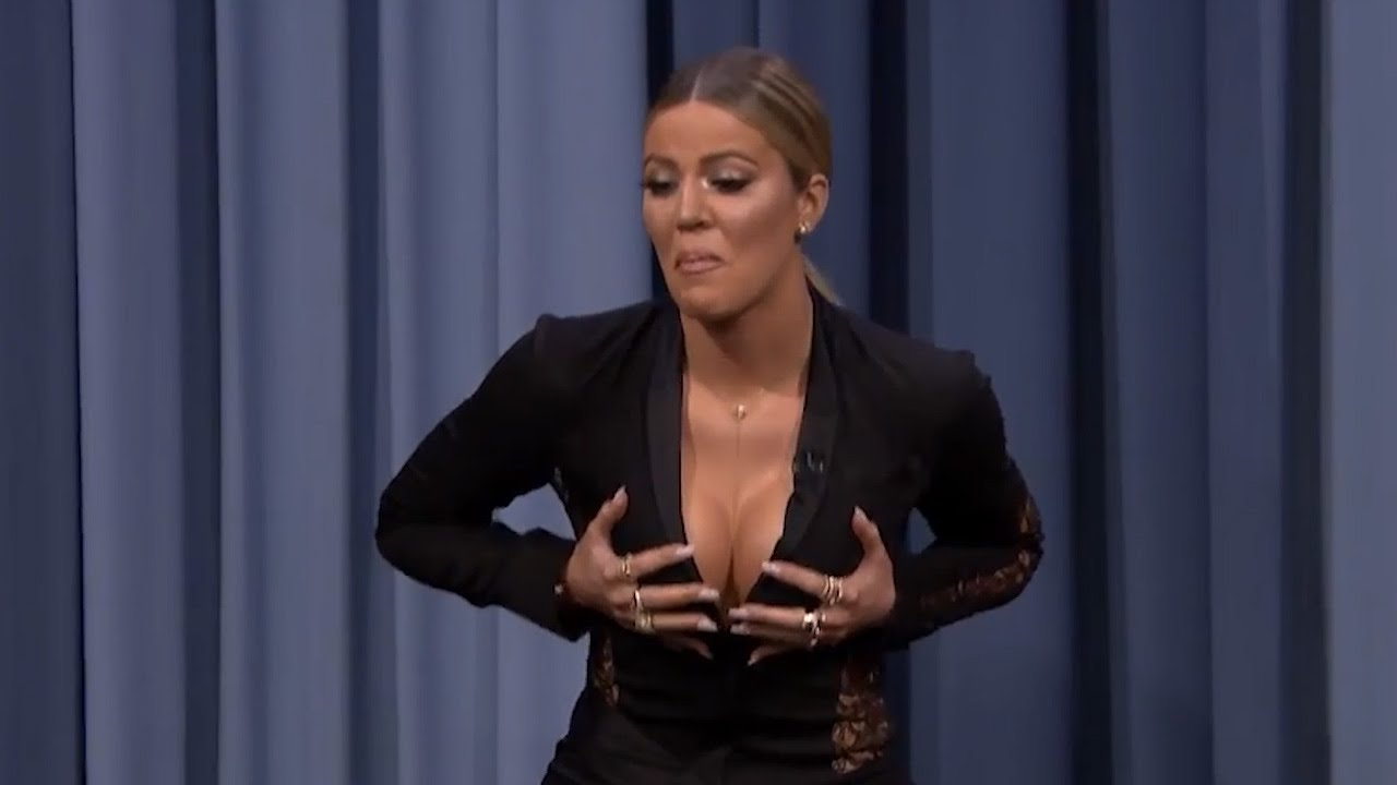 4093054ab937f Khloe Kardashian Plays Awkward Game of Charades With Jimmy Fallon ...