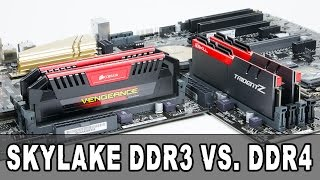 [Review] Intel Skylake DDR3 vs. DDR4 Vergleich - Overclocking & Benchmarks [GER/DE]