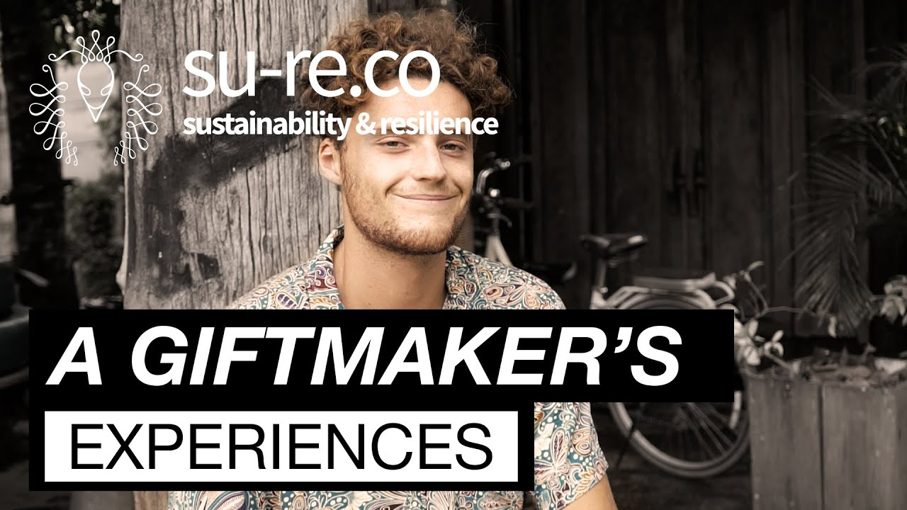 Gift Maker's Experiences - Gaspard, A Green Business Enthusiast