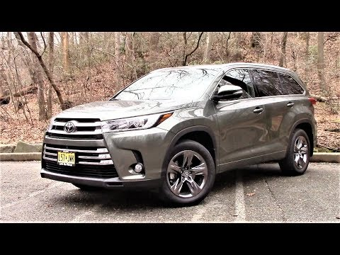 Toyota Highlander Limited Road Test & Review by Drivin' ivan