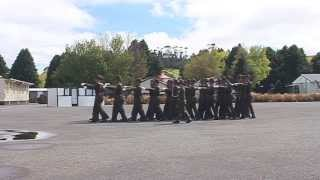 New Zealand Army March Out Drill Presentation - AARC 370 - 2013