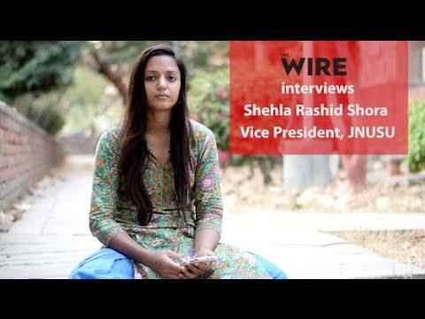 Shehla Rashid Shora:
