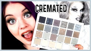 Jeffree Star Cremated Palette 💀 First Impressions / Try On