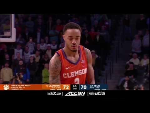 Clemson vs Georgia Tech College Basketball Condensed Game 2018