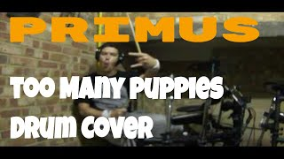 Primus-Too many puppies(Drum Cover)