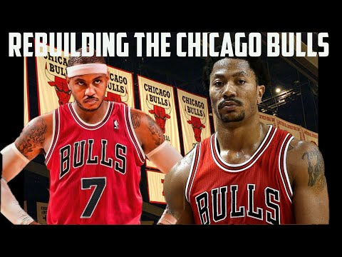 NBA 2K16 MyLeague: Rebuilding The Chicago Bulls | Carmelo Anthony Trade?!