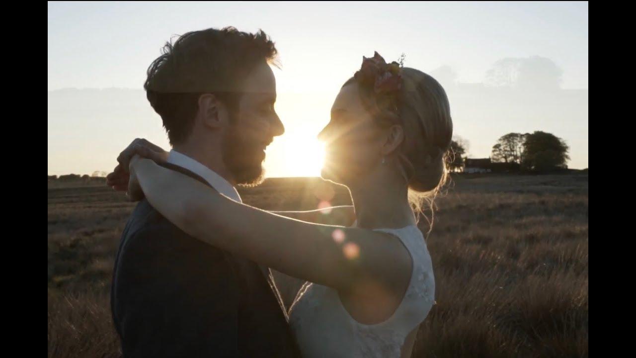Hannah + Finn | Harelaw Farm | Ayrshire | Emotional Sunset Wedding | Tall Tale Films