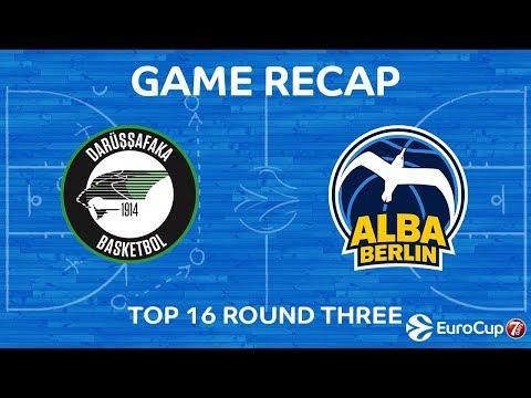 Highlights: Darussafaka Istanbul - Alba Berlin