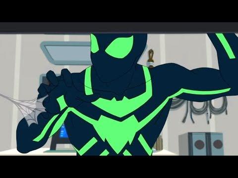 Смотреть человек паук из будущего мультфильм