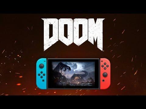 DOOM para Nintendo Switch já disponível