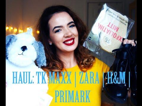 Rudeninis HAUL: PRIMARK   ZARA   H&M   TK Maxx