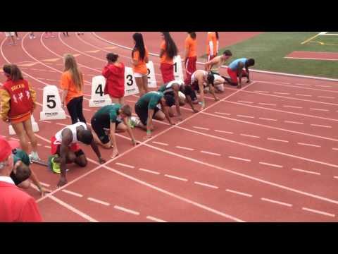 Men's 100m false start