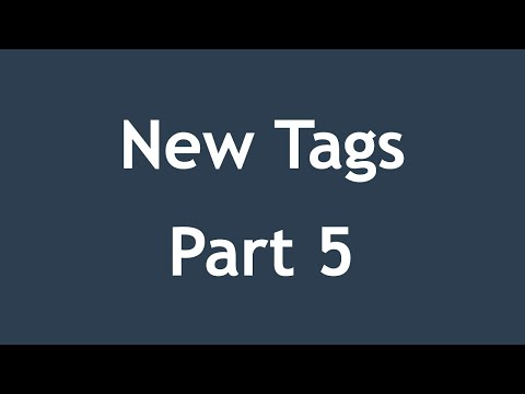 [ Html5 In Arabic ] #12 - New Tags - Figure, Figcaption