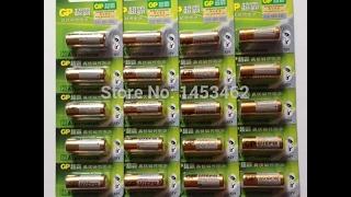 Посылка из Китая. Батарейки GP Alkiline Ultra для датчиков сигнализации, брелков