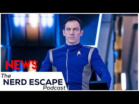 Captain Lorca & delays  - Star Trek Discovery    NEP cast #40