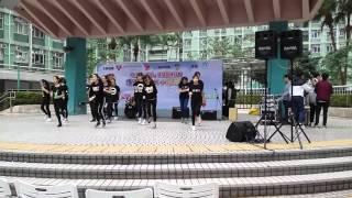 福建中學(小西灣)現代舞團參與圓形廣場演出