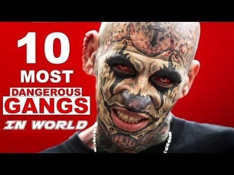 10 Most Dangerous Gangs In The World दुनिया के 10 सबसे खतरनाक माफिया गैंग