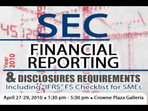 SEC Financial Reporting and Requirements