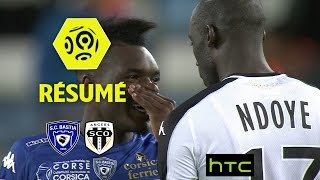 SC Bastia - Angers SCO (1-2)  - Résumé - (SCB - SCO) / 2016-17