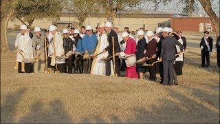 Archdiocese breaks ground on the  Blessed Stanley Rother Shrine