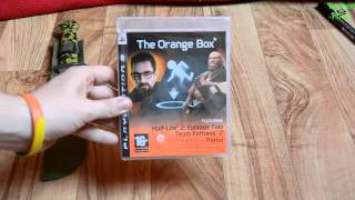 Unboxing - The Orange Box [DE|HD|PS3] Half-Life², Team Fortress 2, Portal
