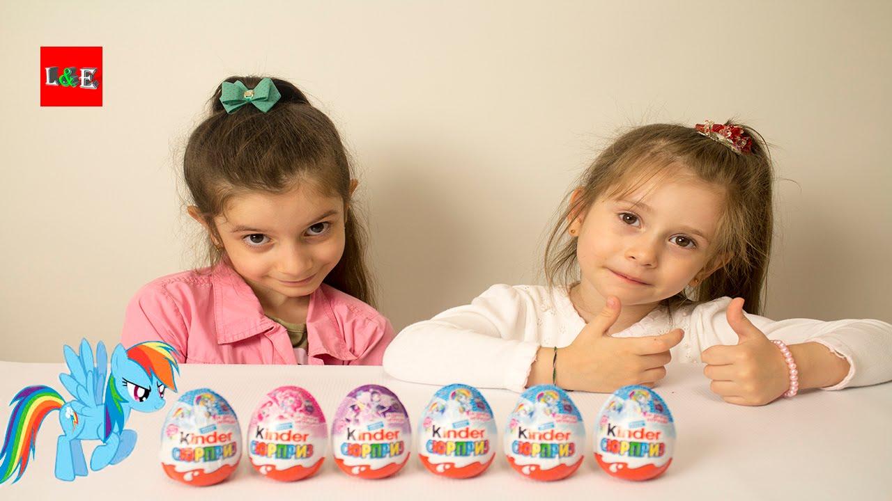 Распаковка Киндер Сюрприз 12 шоколадных яиц 2 14