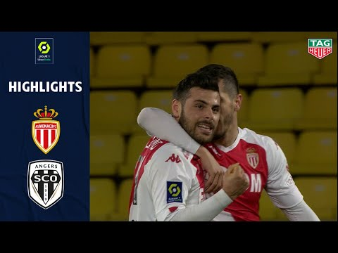 Monaco Angers Goals And Highlights