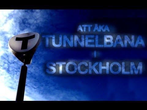 Att Åka Tunnelbana i Stockholm