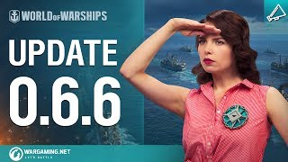 World of Warships - Game Update 0.6.6