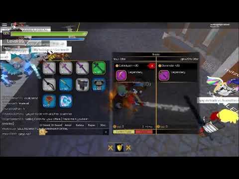 ROBLOX Swordburst 2 pjkk201 and mitzell_007 (2scammers) by BBC Rodd