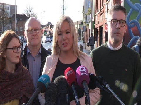 Barry McElduff resignation accepted by Michelle O'Neill MLA
