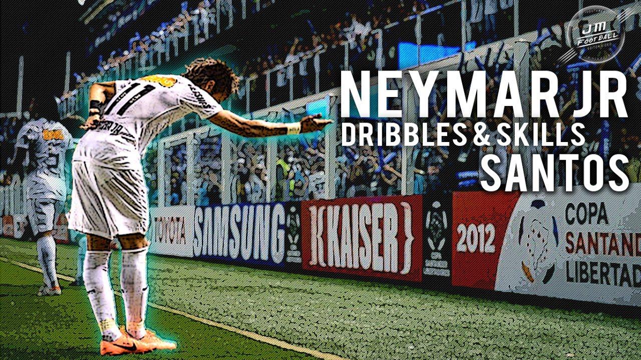 Download Neymar Jr   Dribbles & Skills Santos   HD