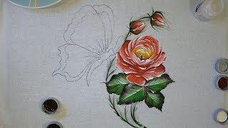 Novo Projeto – Aprenda a Pintar Rosas Folhas e Botões Facilmente