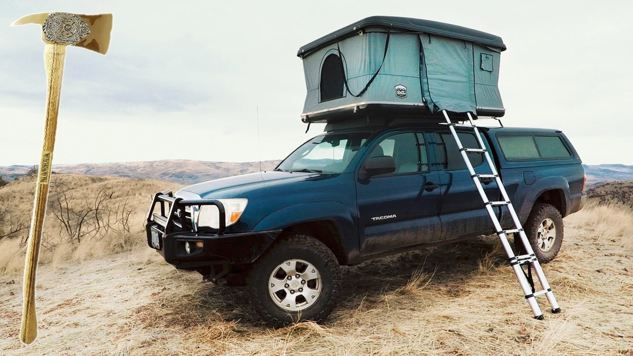 The Hard Shell CVT Roof Top Tent