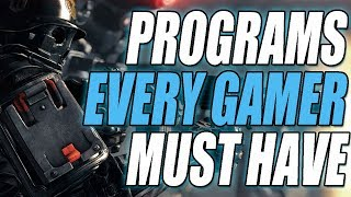 FREE PC Programs Every Gamer Must Have on a Gaming PC!