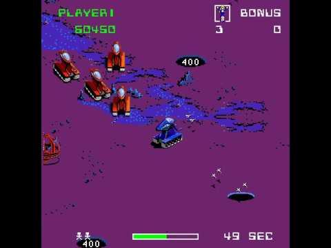 Arcade Game: Crater Raider (1984 Bally Midway)