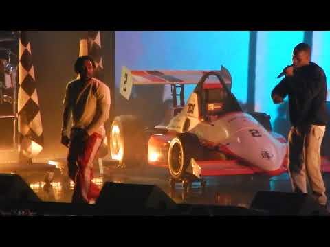 Kendrick Lamar f/ Jay Rock - Money Trees & King Dead (Live 6-15-2018) Chicago