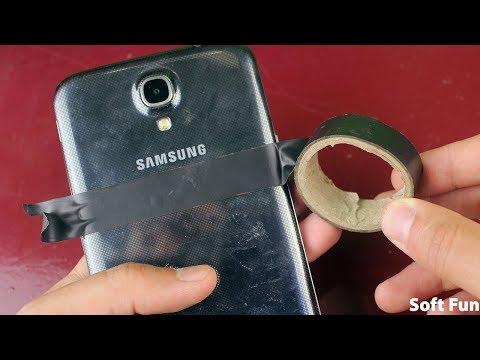 شاهد مالذي يحدث عند إضافة لاصق خلف هاتفك ! ستعشق هاتفك بعد اليوم !!