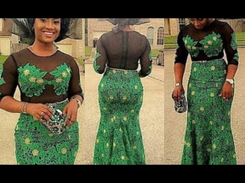 100  Beautiful Latest Aso-Ebi Dress Styles for African Women