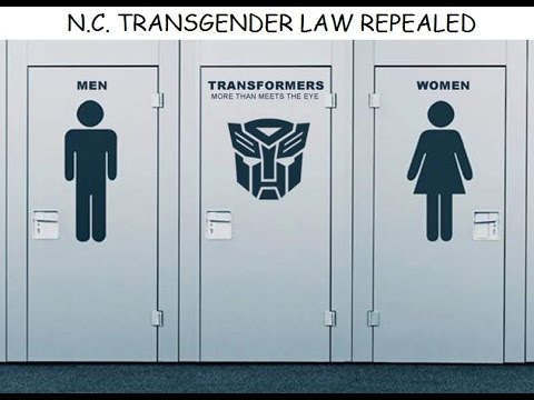 NC Transgender Bathroom Law Repealed - YouTube
