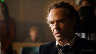 Ральф Дибни в облике Дево в суде. Освобождение Барри Аллена из тюрьмы.