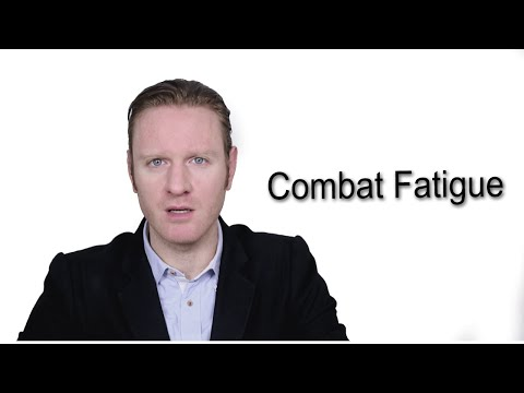 Combat Fatigue - Meaning | Pronunciation || Word Wor(l)d - Audio Video Dictionary