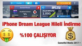 iPhone Dream League 17 Para Hileli İndirme