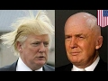 Donald Trump's hair explained: Trump uses Propecia, a hair loss drug to stop baldness - TomoNews