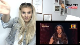 Vocal Coach |Reaction Singing & Miss Universe 2018 - Catriona Gray BEST OFF Moment