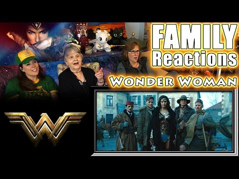 Wonder Woman | FAMILY Reactions