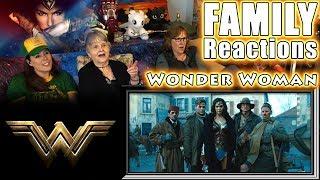 Wonder Woman | FAMILY Reactions