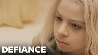 DEFIANCE (Inside Episode) | My Name Is Datak Tarr and I Have Come to Kill You  | SYFY
