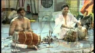 044 -Gajavadana Beduve...Aneesh V.Bhatt - Alangudi Radhakalyanam 2016